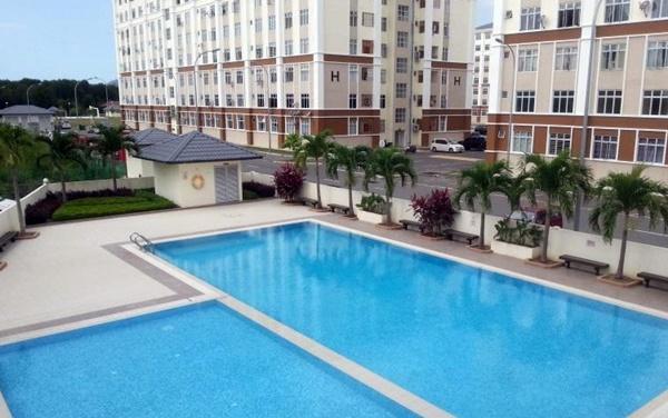 Apartment Murah di Kota Kinabalu
