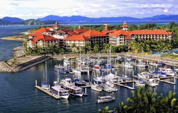 Hotel 5 Bintang di Kota Kinabalu